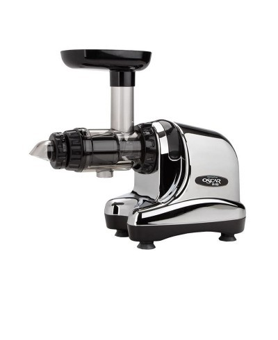 Oscar DA 1000 Slow Juicer in chrome